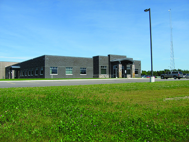 A photo of the new CWEC headquarters in Rosholt